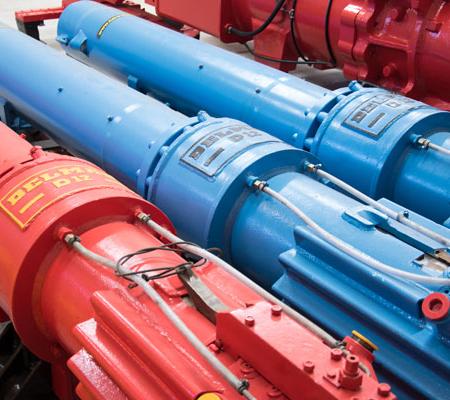 Image of the Delmag D12 overhauled diesel pile impact hammer