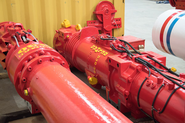 Image of the Delmag D30-32 overhauled diesel pile impact hammer