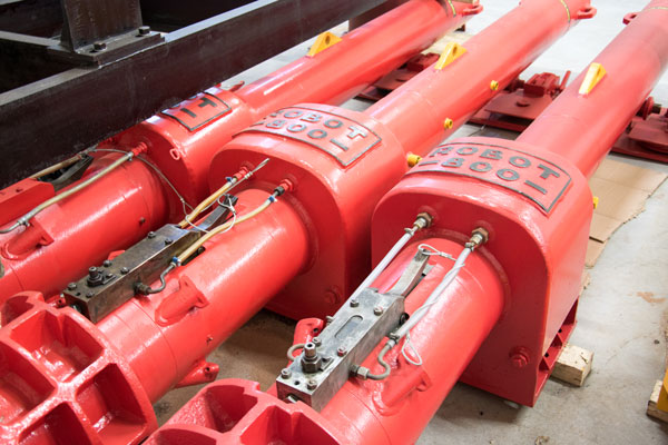 Used Robot 800 Diesel Pile Hammer for sale - Hera Hammers