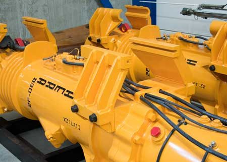 Image of the Hera Hammers D30-32 diesel pile impact hammer for the New category thumbnail