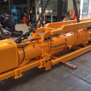 Image of the new Hera D62-22 diesel pile impact hammer